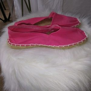 Shoes - Espadrille pink Flats